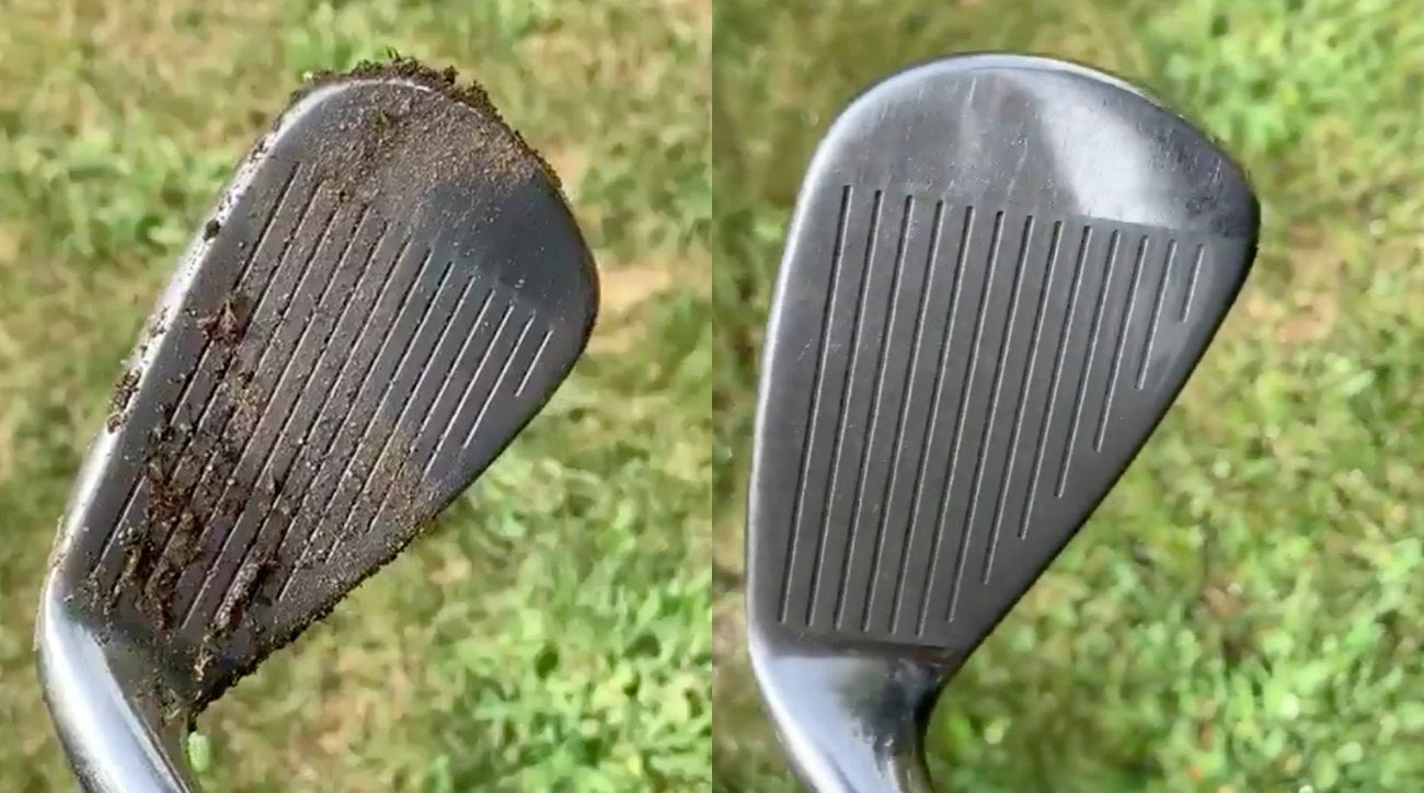 You must have clean golf clubs!