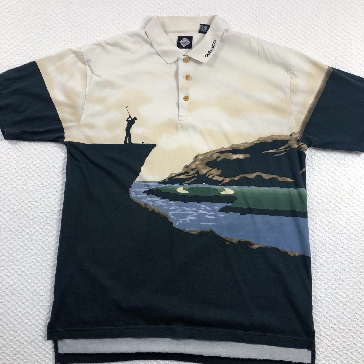A Tabasco Golf Shirt Will Give you Some Spice
